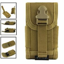 Universal Tactical Molle Cell Phone Smartphone Belt Loop Velcro Waist Pouch Army