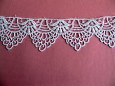 """Affordable  Venice Venise Lace Trim Crafts  Edge  Baby Doll 2-1/2""""   5 yard 1337"""