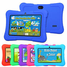 "7"" Google Android 4.4 Quad Core 8GB Tablet PC Kids Edition Bundle w' Gel Case"