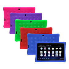 """Cute Silicone Soft Gel Case Cover For 7"""" Android 4.4 A23 / A33 Q8 Tablet PC Kids"""