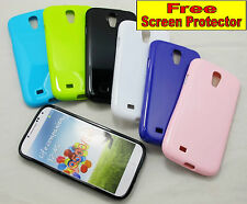 For Samsung Galaxy S4 Durable Strong Slim TPU Jelly Case Cover Skin