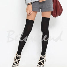 Long Socks Thigh High Cotton Stockings Thinner Over Knee Pantyhose
