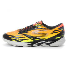 Skechers GO MEB SPEED 3  Men's Athletic Sneakers 54000-BKOR BLACK-ORANGE