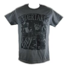 Undertaker Nightmare WWE Mens Gray T-shirt