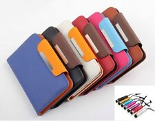 UNIVERSAL LEATHER CASE COVER CARD FOR XIAOMI NOTE KINGELON N9588 N9500 INEW V1