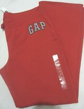 NWT Womens GAP Red Logo Lounge Sweatpants M, L, XL,