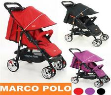 NEW ORIGINAL MARCO POLO PUSH ME URBAN BUGGY 4 WHEELER PUSHCHAIR FROM BIRTH