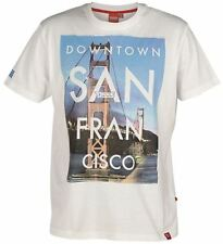"""D555 PURE COTTON PRINTED T SHIRT """"DOWNTOWN"""" IN SIZE 1XL TO 6XL"""