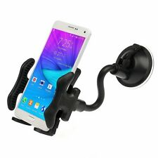 360 Rotary Gooseneck Car Windshield Mount Holder Stand for Mobile Cell Phone GPS