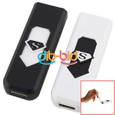 USB Ricaricabile Lighter Elettronico Senza Fiamma Cigarette Accendino