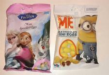 DISNEY FROZEN / DESPICABLE ME MILK CHOCOLATE EASTER MINI EGGS
