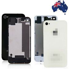 Back Rear Replacement Case Cover Screen Glass for Apple iPhone 4 4S Housing AU