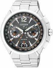 Citizen Eco-Drive Satellite Wave Air GPS Sapphire Japan Men's Watch CC1091-50E
