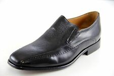 Brass Boot Men's Slip On Black Dress Shoes Style#93416-001