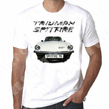 Triumph Spitfire 1976 1500 Mens T-shirt - Personalised number plate available