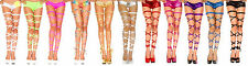 Rave Leg Wraps -11 Color Choices - Garter Exotic Gogo Dancer Club Wear PLUR- fnt