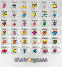 Little Miss Mr Men Coffee Mug Tea Cup Various Designs Add Your Name Free