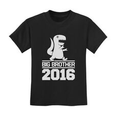 Big Brother 2015 Kids T-Shirt New Baby Announcement Siblings Cute Shower Gift