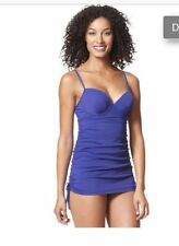 Love Your Assets SPANX One Piece Swimsuit S M L Push Up Swim Dress 1714 New