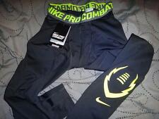 NIKE PRO COMBAT FOOTBALL DRI-FIT COMPRESSION PANTS SIZE XXL XL M MEN NWT $$$$