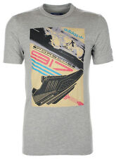 adidas Originals Mens Gray Graphic Cotton Tee T-Shirt Short Sleeve Top