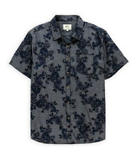 Ecko Unltd. Mens Flower Print Inject Button Up Shirt