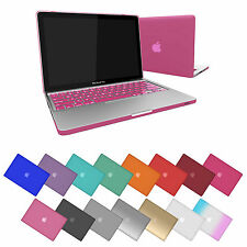 "Rubberized Hard Matte Shell Case for Apple Macbook Pro 13 13.3"" + Keyboard Cover"