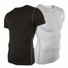 Mens Compression Base Layer Tight Top Shirt Under Skin Sport Gear Thermal Tee