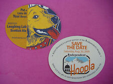 BEER Bar COASTER: Bristol Brewing Laughing Lab Scottish Ale ~ Independent Hoopla