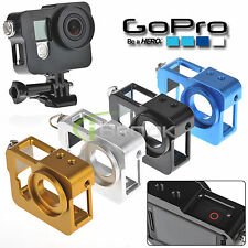 Accessories Aluminium Alloy Protective Housing Frame Case Cover for Gopro Hero 4