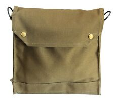 INDIANA JONES WWII Style Satchel British Mark VII Gas Mask Bag Replica and STRAP