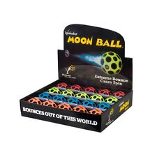 Waboba Moon Ball(Extreme Bounce) in colours red,orange,yellow and blue RRP £5.00