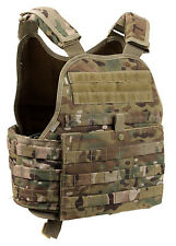 plate carrier vest molle tactical multicam camo adjustable rothco 8928