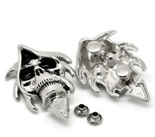 Wholesale Lots Sets Silver Tone Skull Spike Rivet Studs Spots