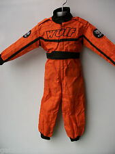 NEW ORANGE WULFSPORT KIDS OFF ROAD OUTDOOR PLAY SUIT QUAD OVERALLS SX CHILD KTM