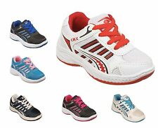 Boys & Girls Childrens Kids Sports Trainers Size Infant 5 to Junior 3 UK  / 0418
