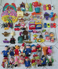 HUGE SELECTION OF ENGLISH McDONALD`S TOY SETS IN VERY GOOD USED CONDITION