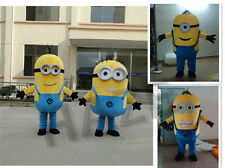 Minions Despicable Me Mascot Costume Fancy Party Dress Outfit EPE NEW**