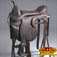 TE106 HILASON WESTERN TREELESS ENDURANCE TRAIL PLEASURE SADDLE 17 18 19