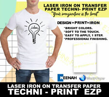 HEAT TRANSFER PAPER  NEENAH TECHNI PRINT EZP  LASER PRINTER :)