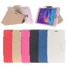 Ultra Slim Flip Stand Leather+TPU Case Cover for Samsung Galaxy Note 4