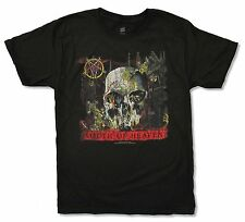 """SLAYER """"SOUTH OF HEAVEN (NON-TOUR)"""" BLACK T-SHIRT NEW OFFICIAL ADULT SKULL"""