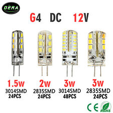 2W/3W/5W G4 G9 LED Cabinet Spot Light Bulb Lamp Cool/Warm White DC 12V/AC 220V