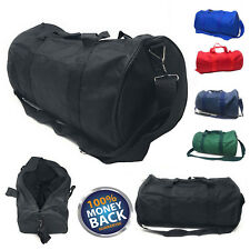 NEW Polyester ROLL Duffle Duffel Bag Travel/Gym/Carry-On Sport Gym Bag 18""