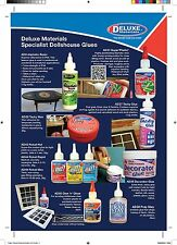 Deluxe Materials Dollhouse/Railway Glues/Adhesives- Various to Choose From