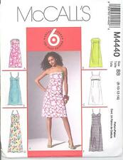 McCall's 4440 Misses'/Miss Petite Dress in Two Lengths    Sewing Pattern
