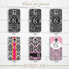 Samsung Galaxy note 4 Case Monogram Damask HARD SOFT TOUGH for N4 N3 N2 S5 S4 S3