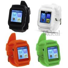 8GB Watch LCD Screen MP3 MP4 Music Video Player Photo Calendar WMA/WAV/MP3