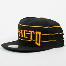 UNDEFEATED X NEW ERA INVICTO FITTED BASEBALL HAT BLACK GOLD UNDFTD