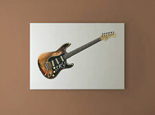 Stevie Ray Vaughan's Stratocaster Number One CANVAS PRINT